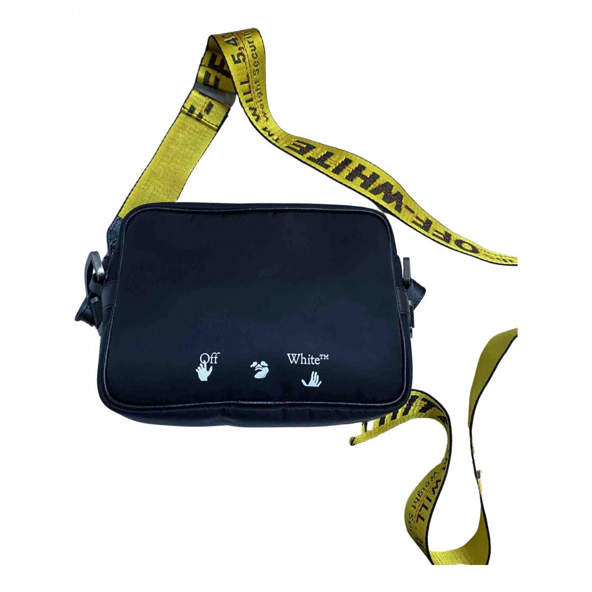 Off-white N Black Small bag, wallet & cases for Men N