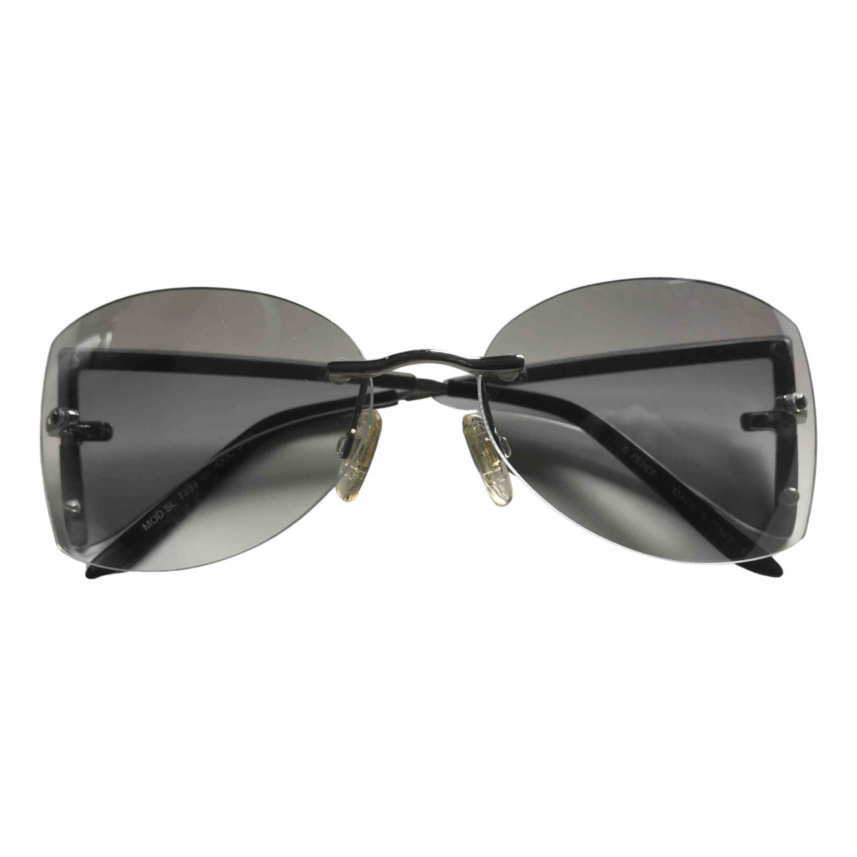 Fendi \N Metallic Metal Sunglasses for Women \N