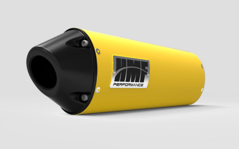 HMF Racing 20463726383 Honda CBR 1000 Slip On Exhaust Systems Yellow