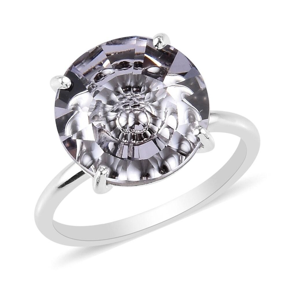 Crystal Glass & Bead Rings