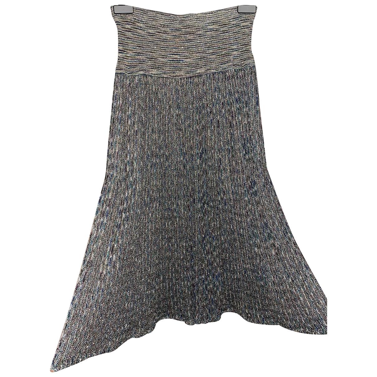 Missoni - Jupe   pour femme - metallise