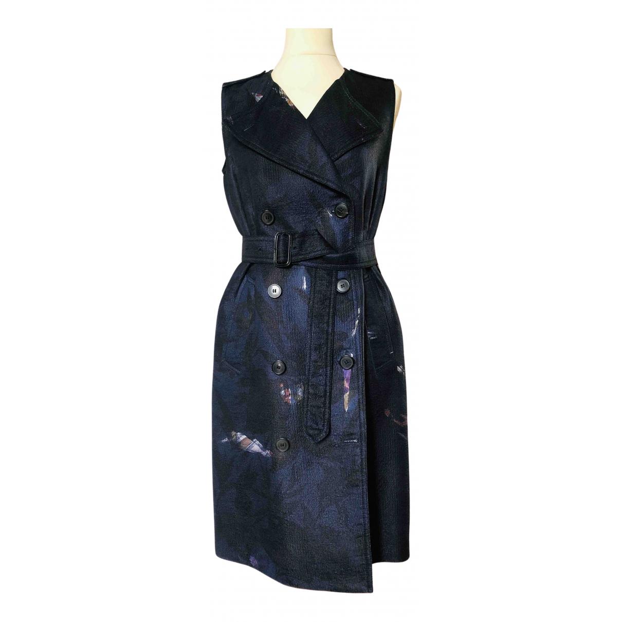 Dries Van Noten \N Kleid in  Schwarz Seide