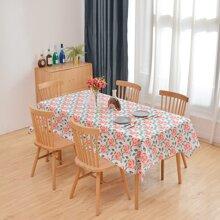 Tischdecke mit Rose Muster