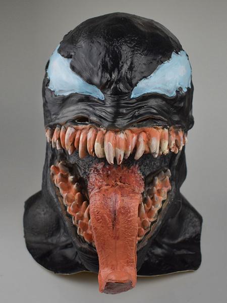 Milanoo Venom Eddie Brock 2020 Movie Mask Cosplay Accessory Halloween