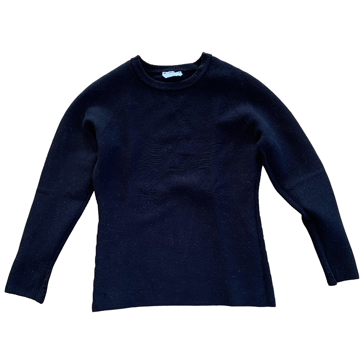 Fendi N Black Cotton  top for Women 40 IT