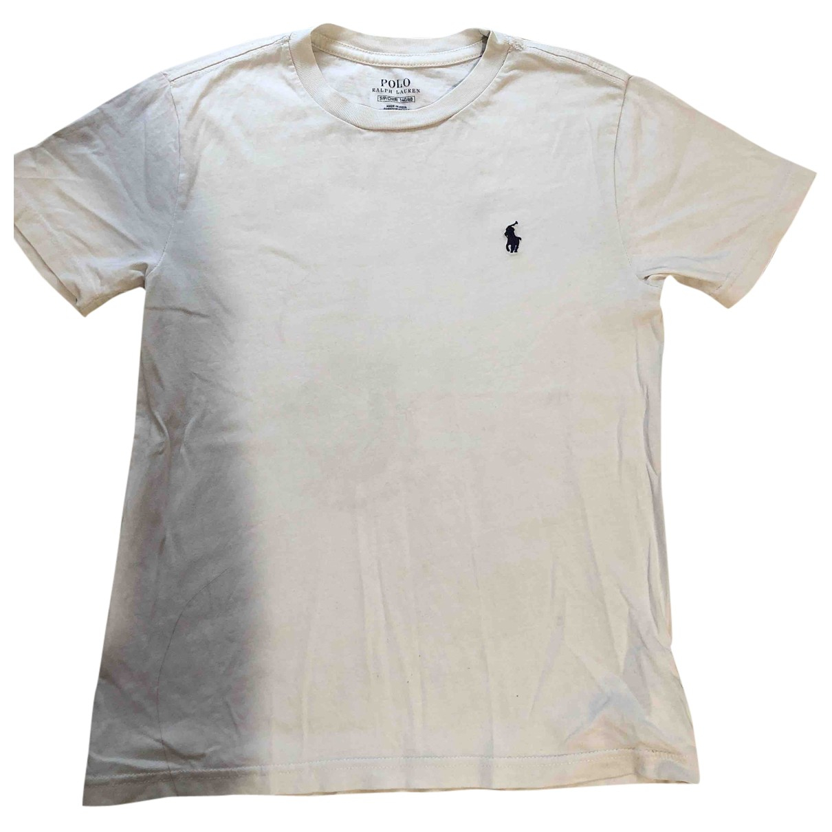 Polo Ralph Lauren N White Cotton  top for Kids 12 years - XS FR