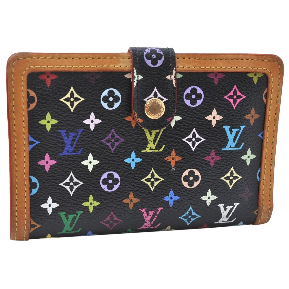 Louis Vuitton N Black Cloth wallet for Women N