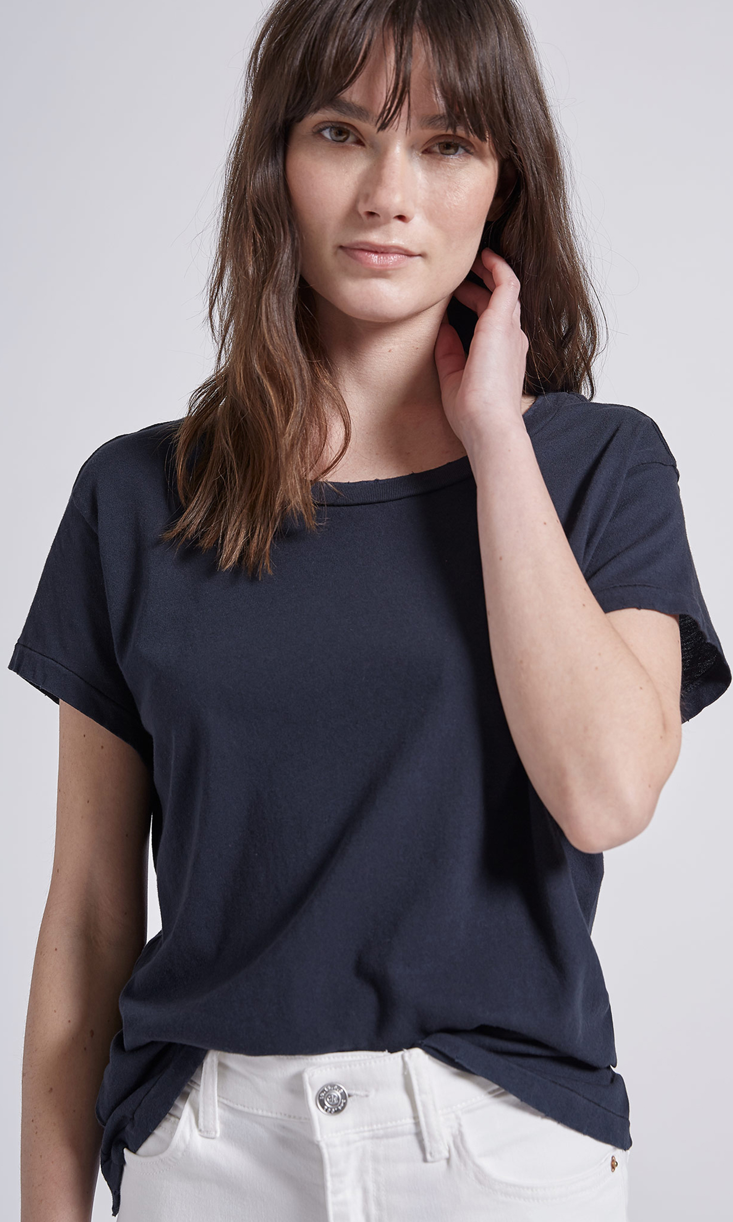 Current Elliott Relaxed Crew Tee by Equipment