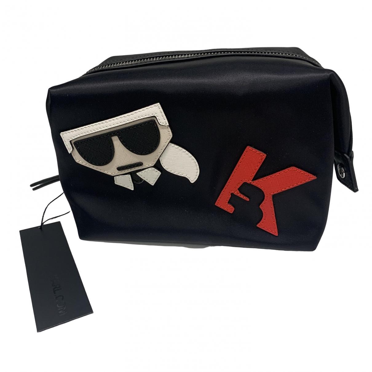 Bolsos clutch en Poliester Negro Karl Lagerfeld
