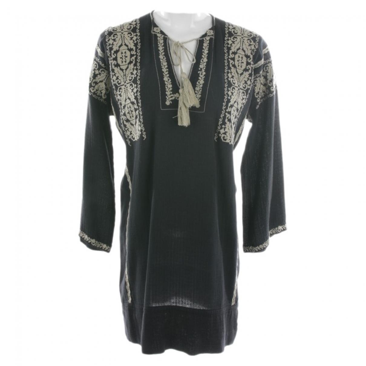 Isabel Marant Etoile - Robe   pour femme en coton - noir