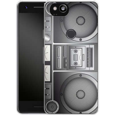 Google Pixel 2 Silikon Handyhuelle - Beatbox von caseable Designs