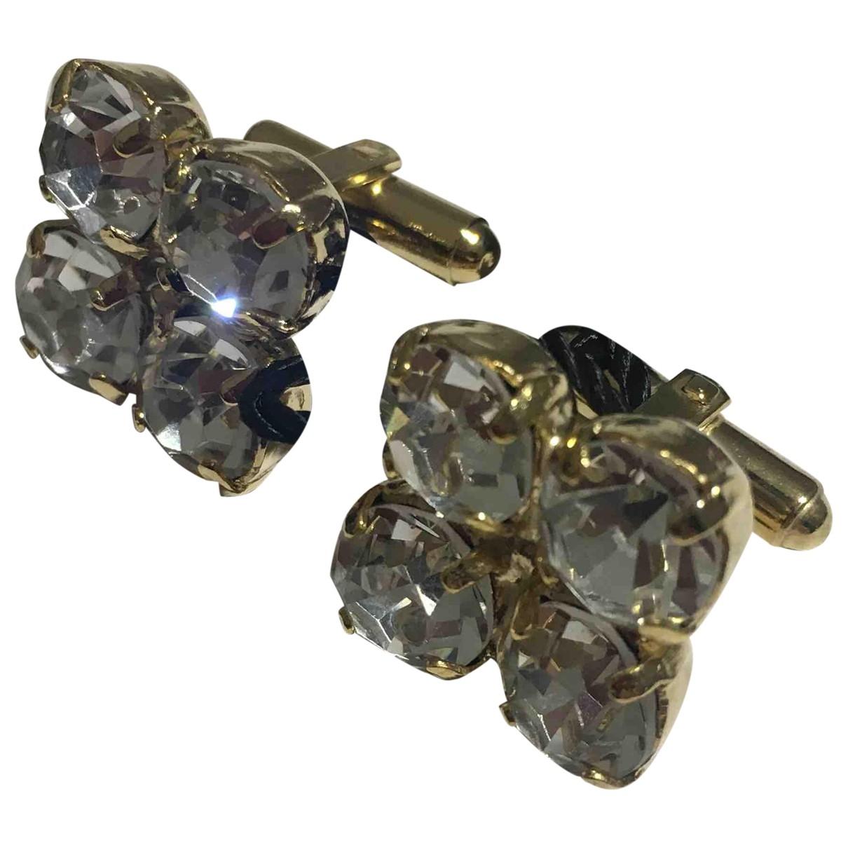 Dolce & Gabbana \N Manschettenknopfe in  Gold Metall