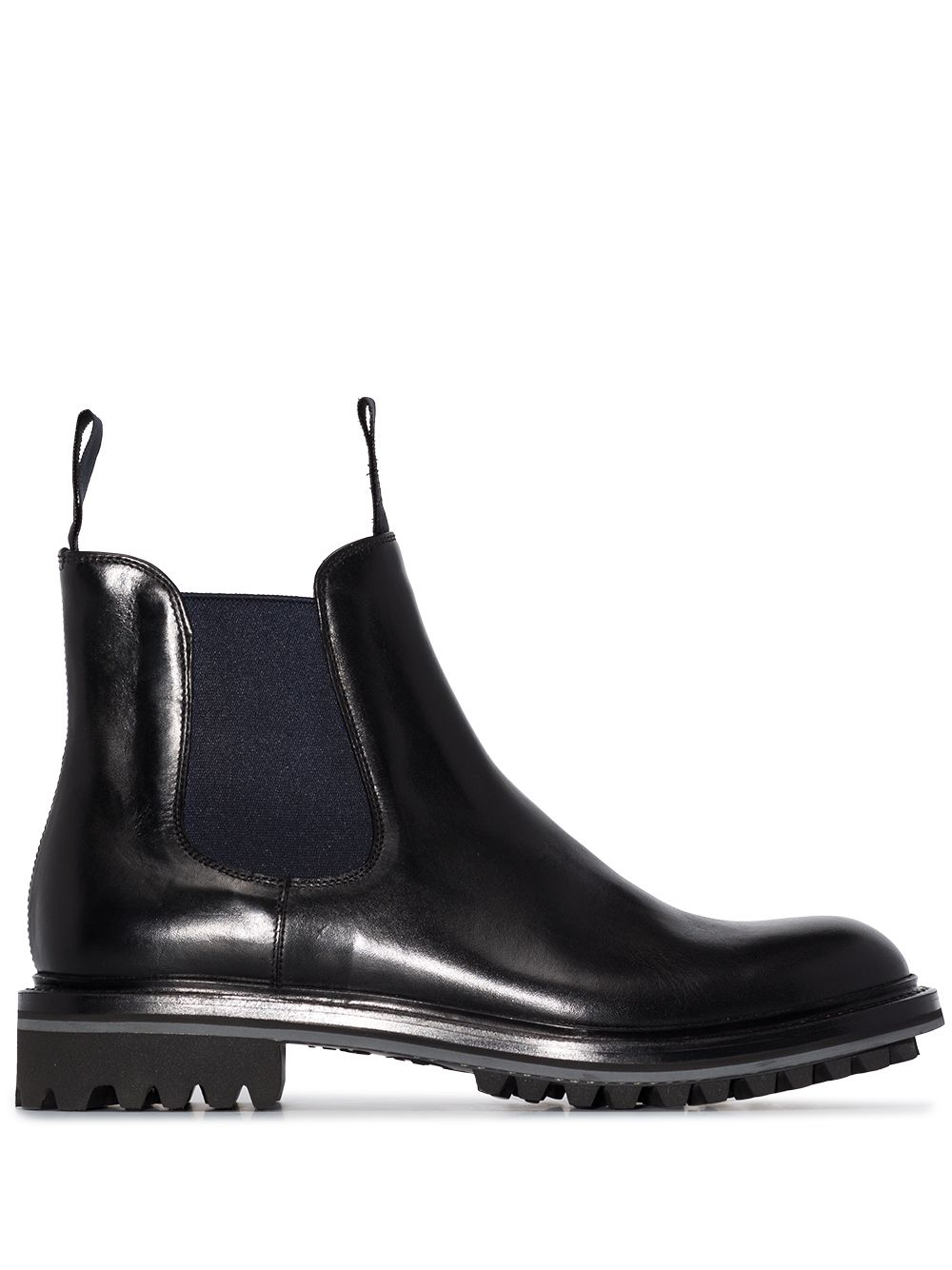 Genie Leather Chelsea Boots