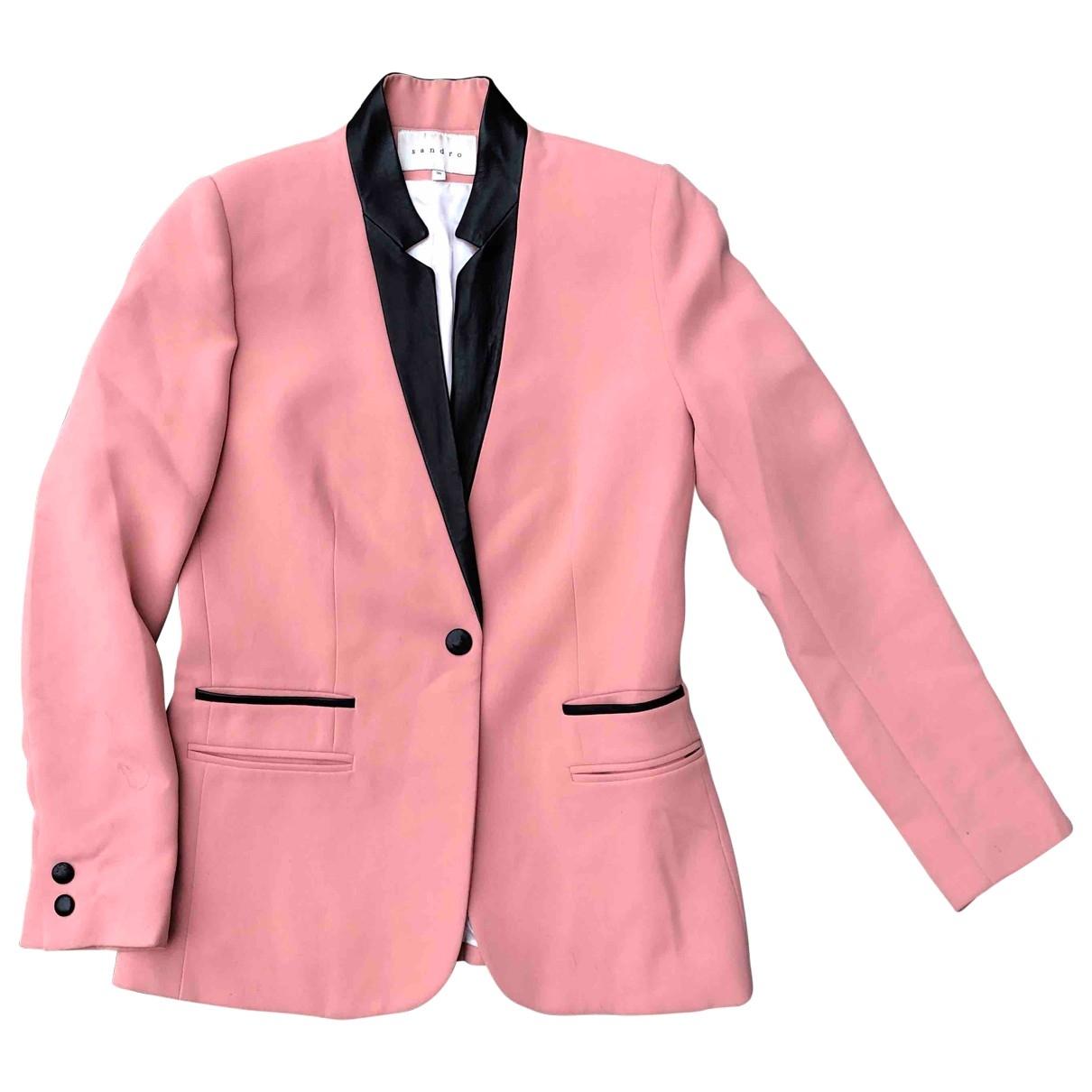 Sandro \N Pink jacket for Women XS International