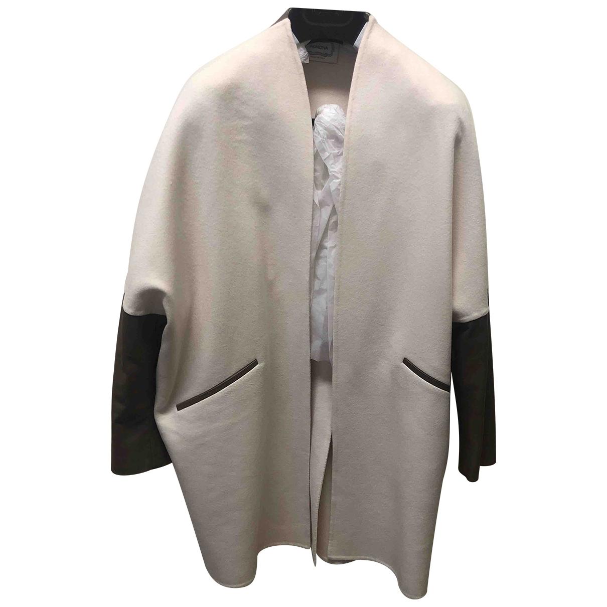 Agnona \N Beige Cashmere jacket for Women 40 IT