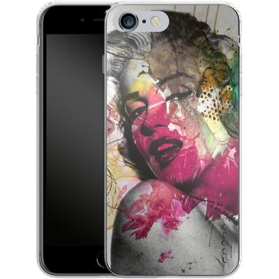 Apple iPhone 6 Plus Silikon Handyhuelle - Woman Aquarelle von Mark Ashkenazi