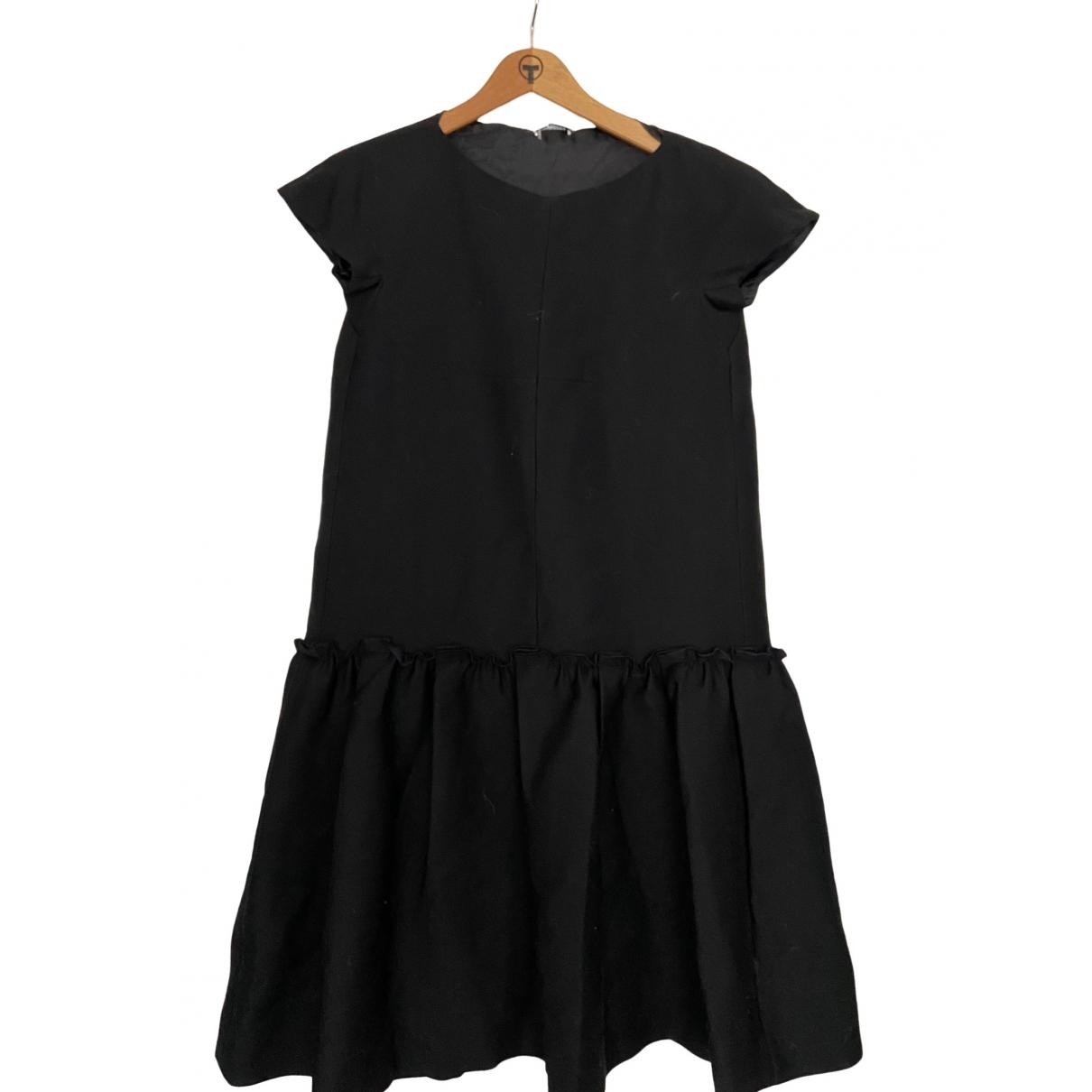 Cacharel \N Kleid in  Schwarz Baumwolle