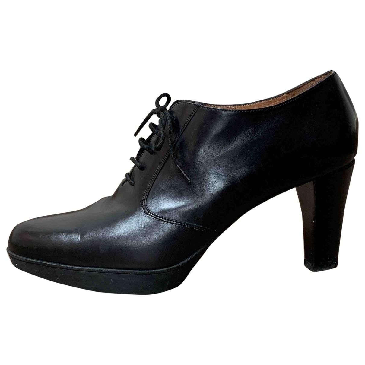 Fratelli Rossetti - Boots   pour femme en cuir - noir