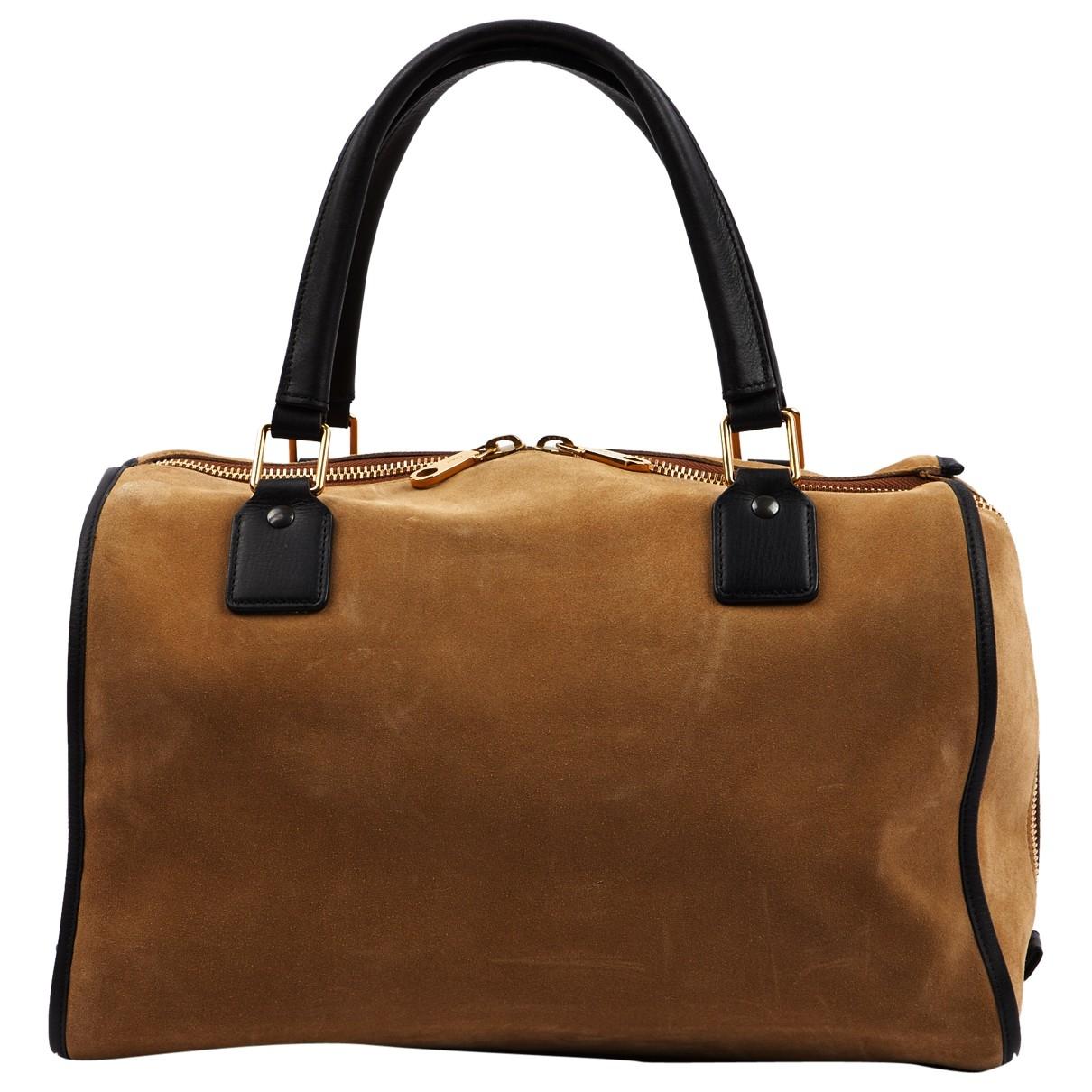 Chloé \N Beige Suede handbag for Women \N
