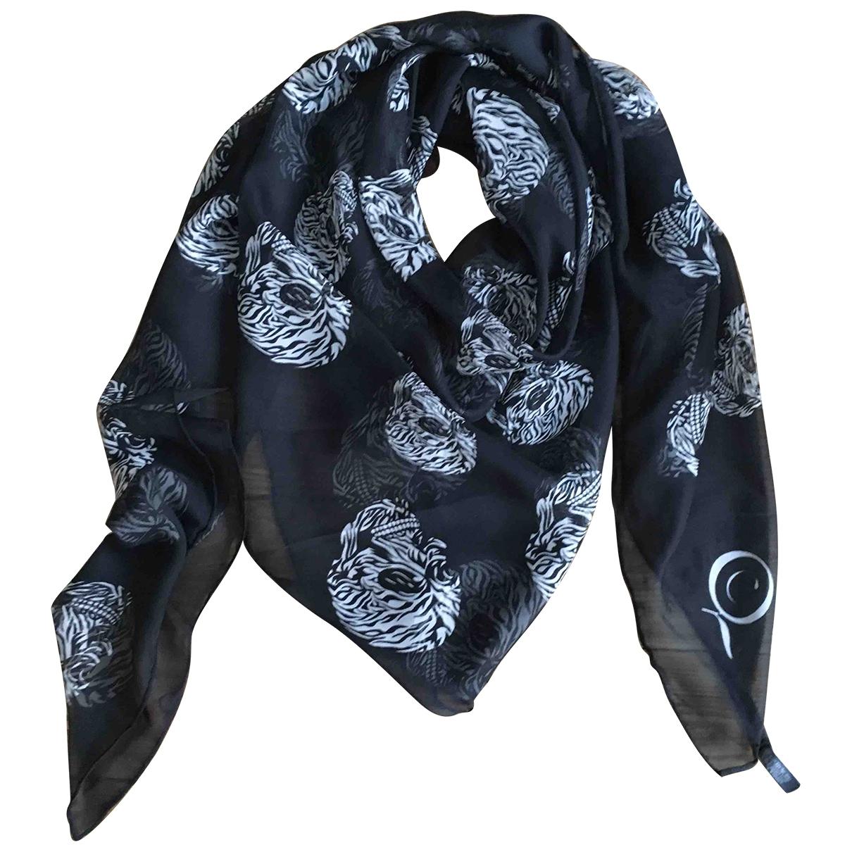 Mcq - Foulard   pour femme en soie - noir