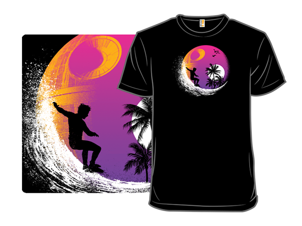 May The Surf Be With You Ii T Shirt