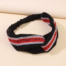 1pc Letter Graphic Headband
