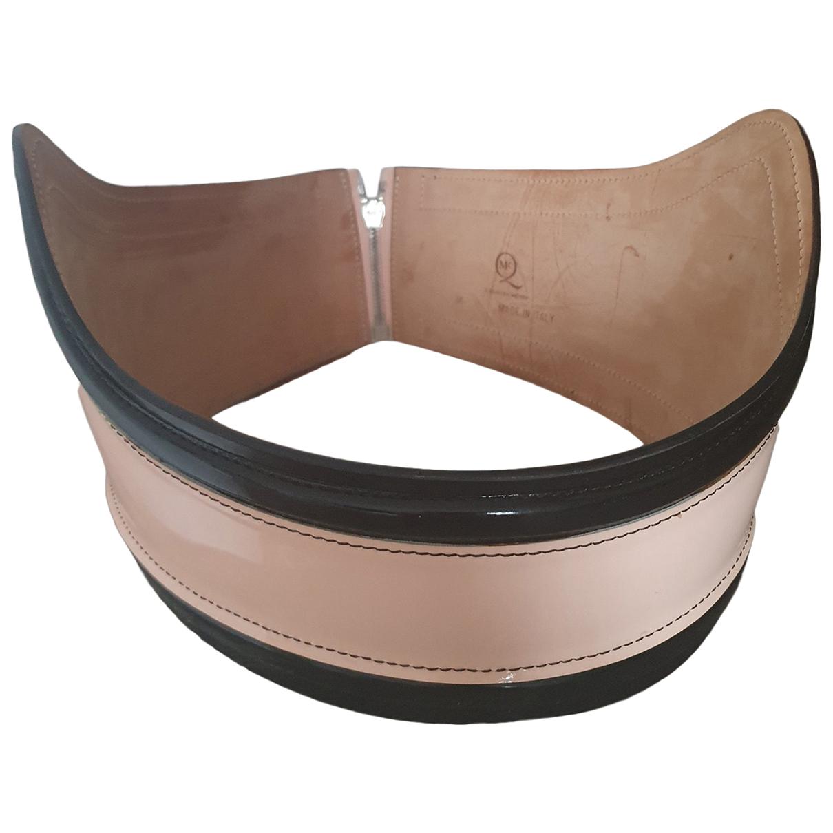 Cinturon de Charol Mcq