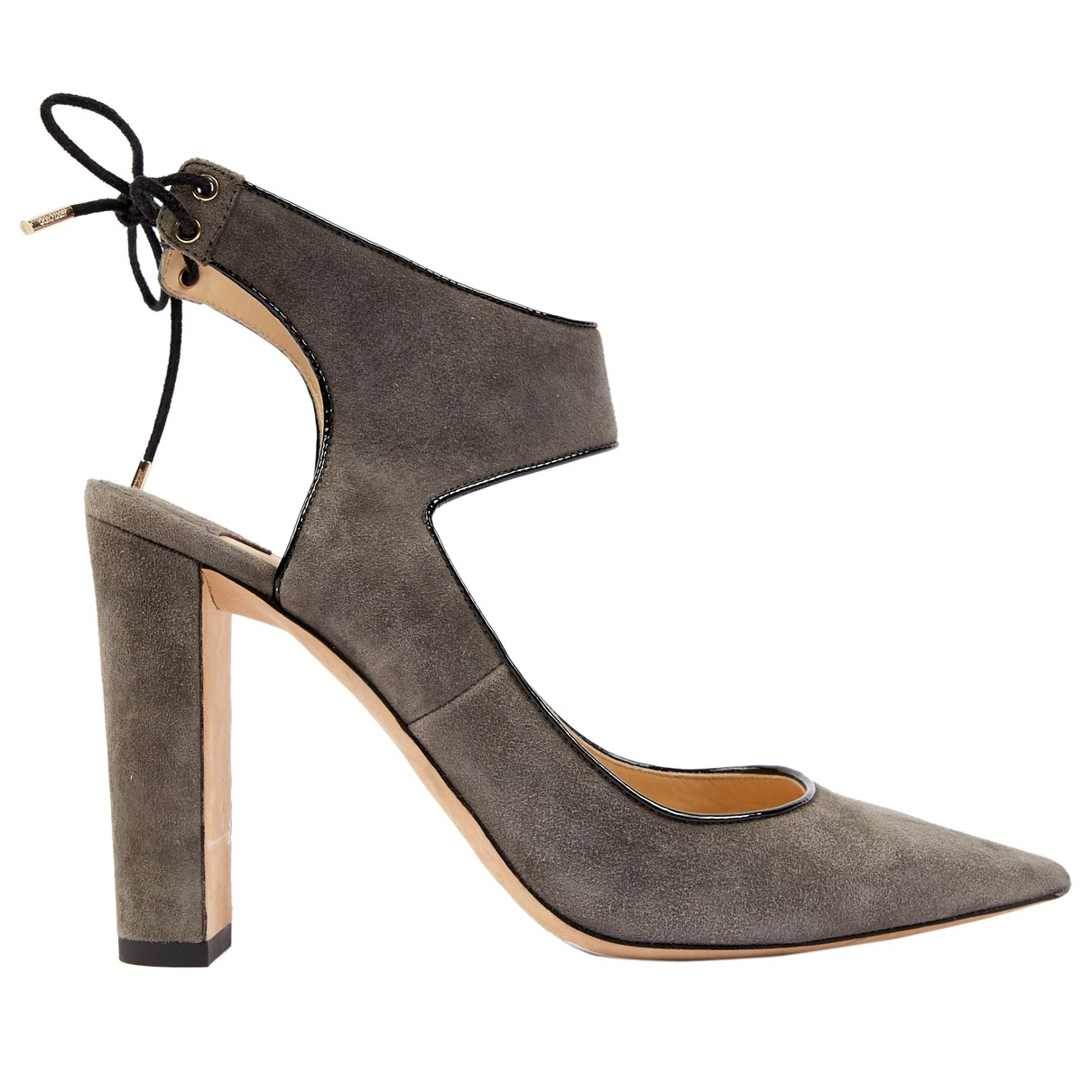 Jimmy Choo \N Grey Leather Heels for Women 39 EU