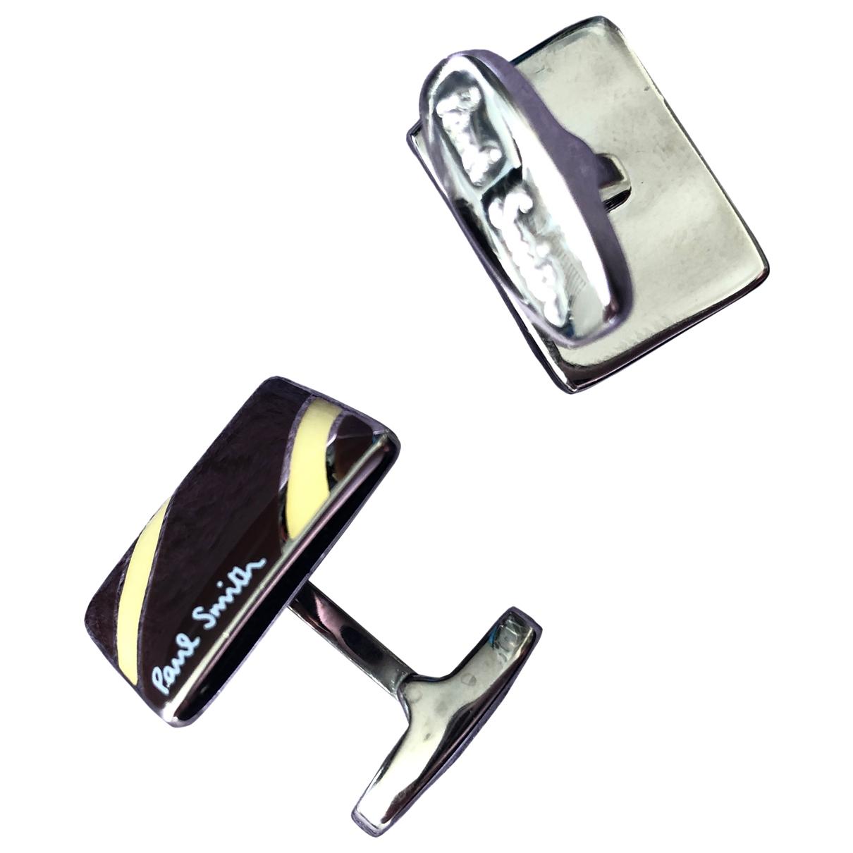 Paul Smith \N Manschettenknopfe in  Braun Metall