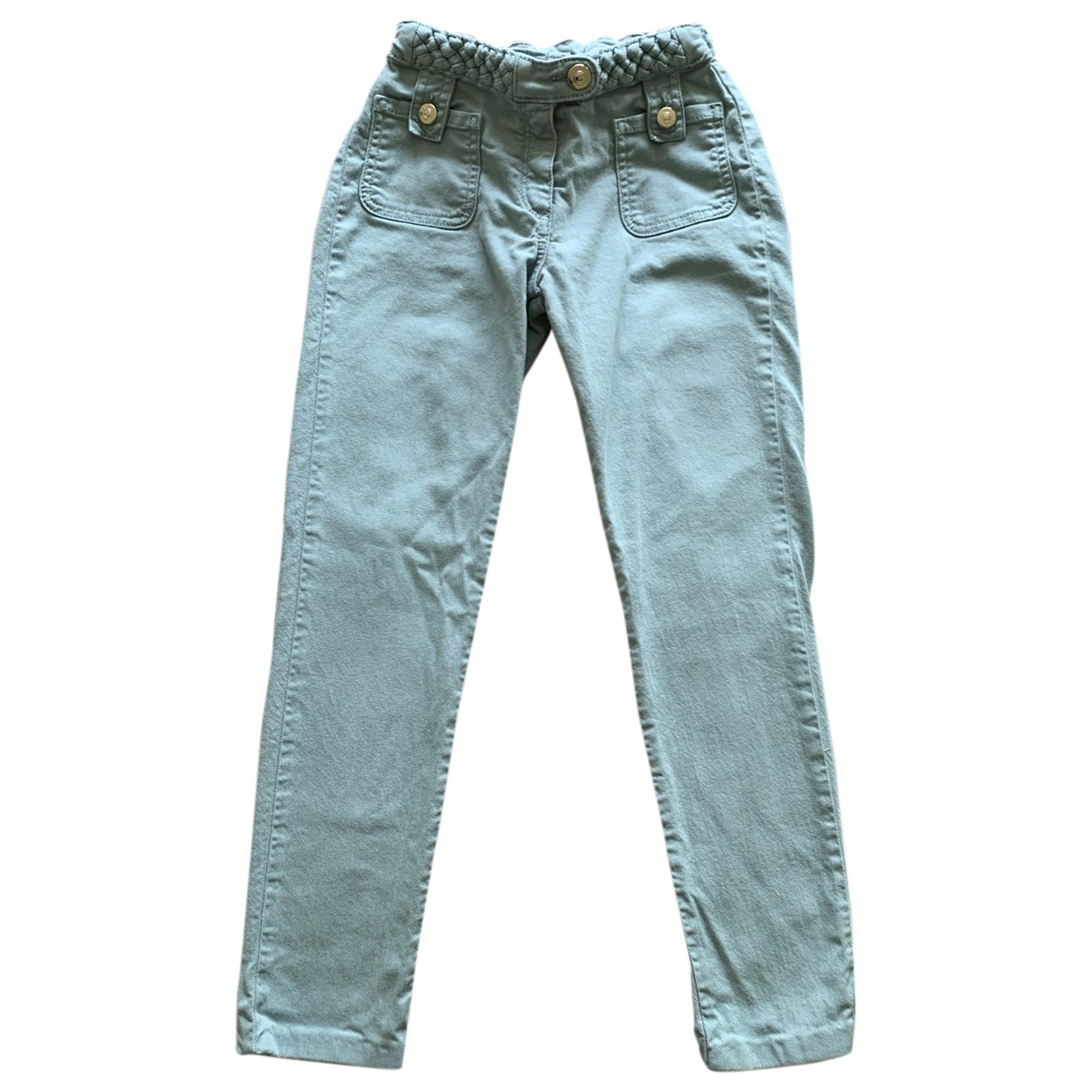 Chloé \N Blue Cotton Trousers for Kids 10 years - up to 142cm
