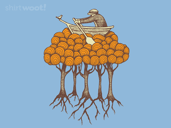 Sailing The High Trees T Shirt