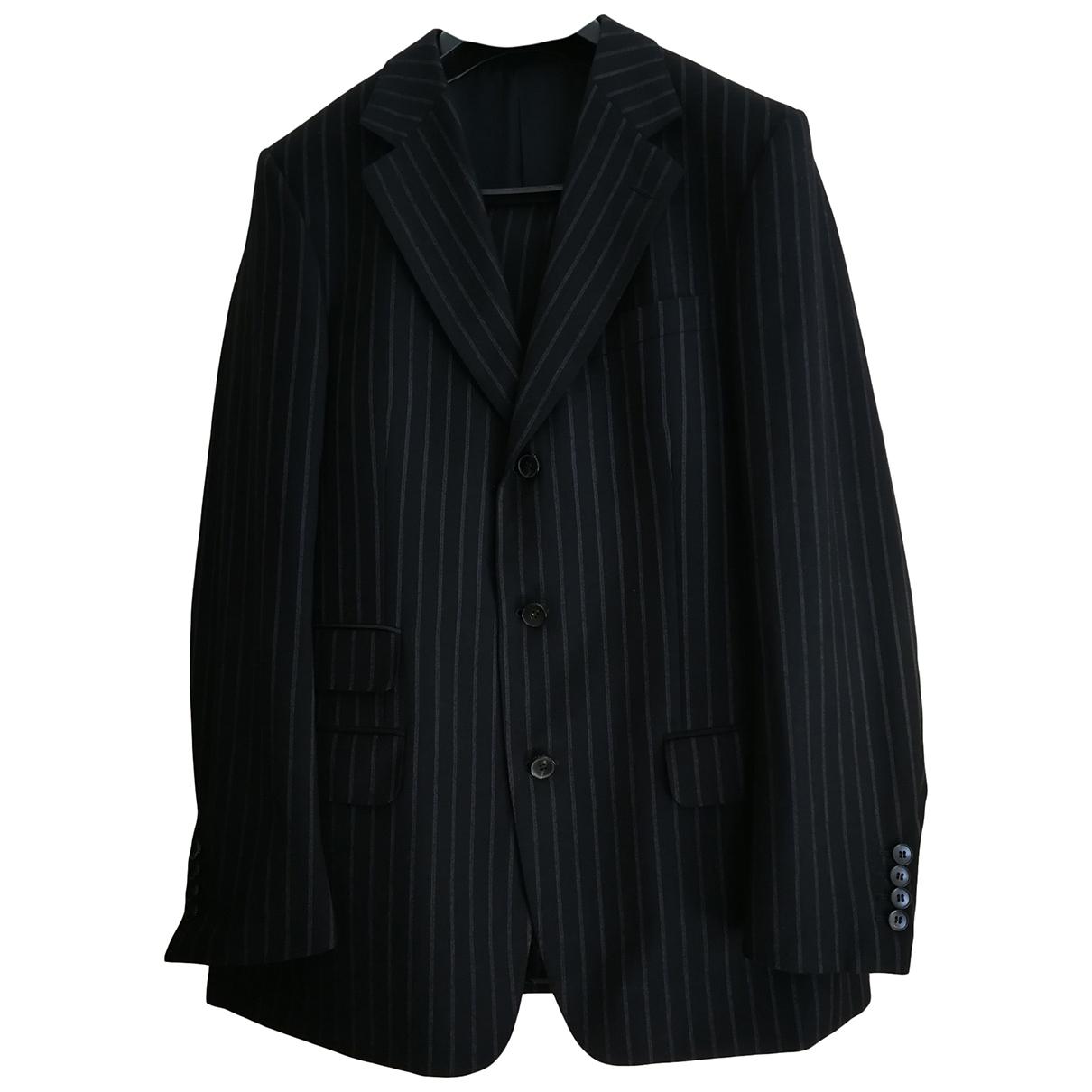 Gucci - Costumes   pour homme en laine - bleu