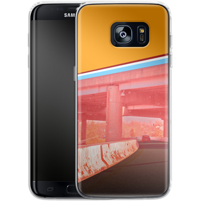 Samsung Galaxy S7 Edge Silikon Handyhuelle - Bridge von Brent Williams