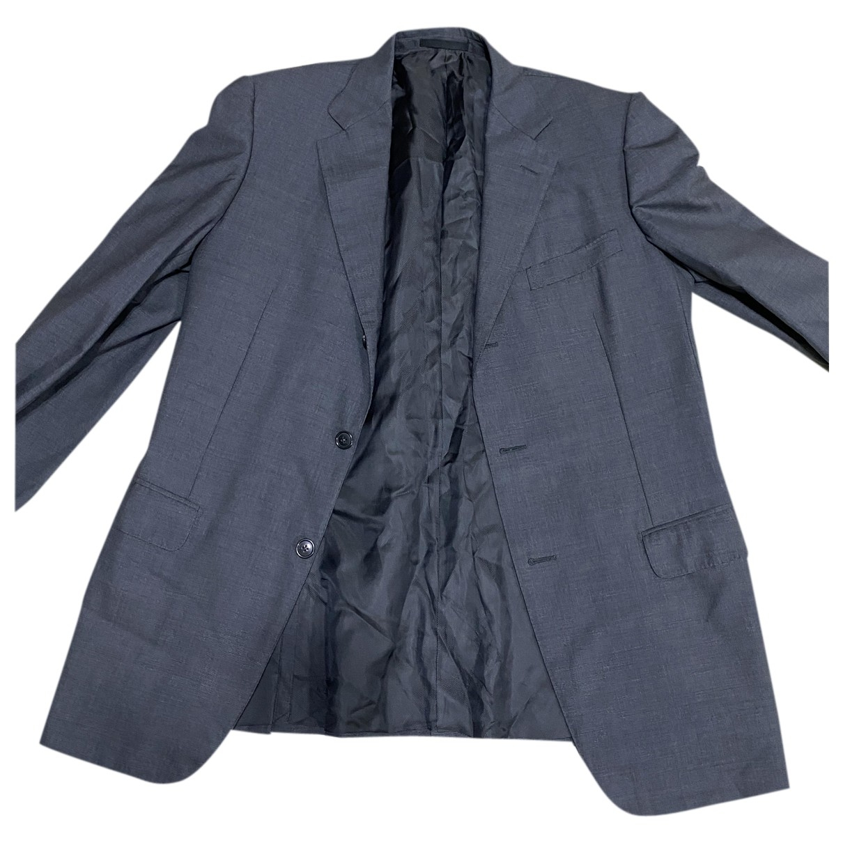 Ermenegildo Zegna N Grey Wool jacket  for Men 54 IT