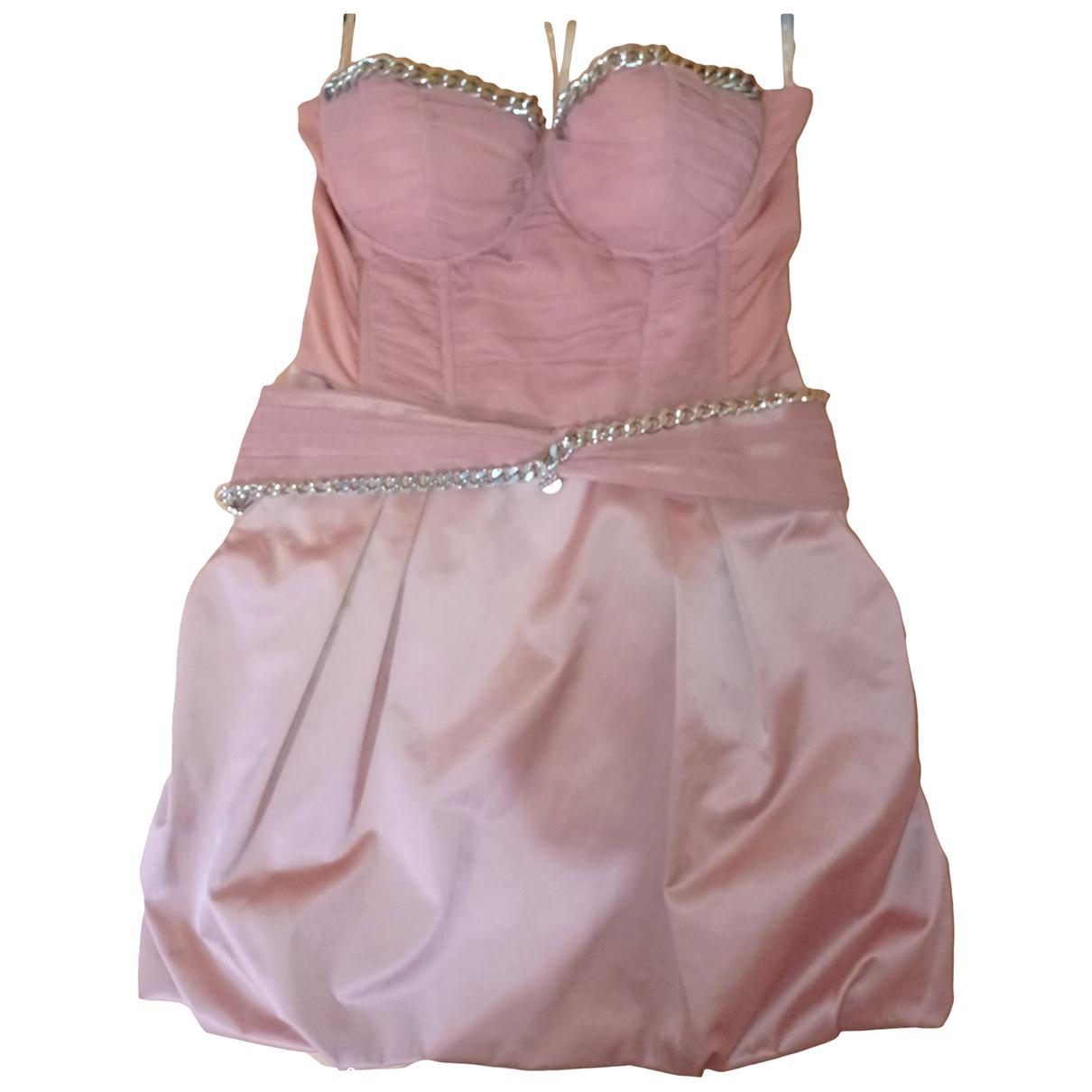 Elisabetta Franchi - Robe   pour femme en coton - elasthane