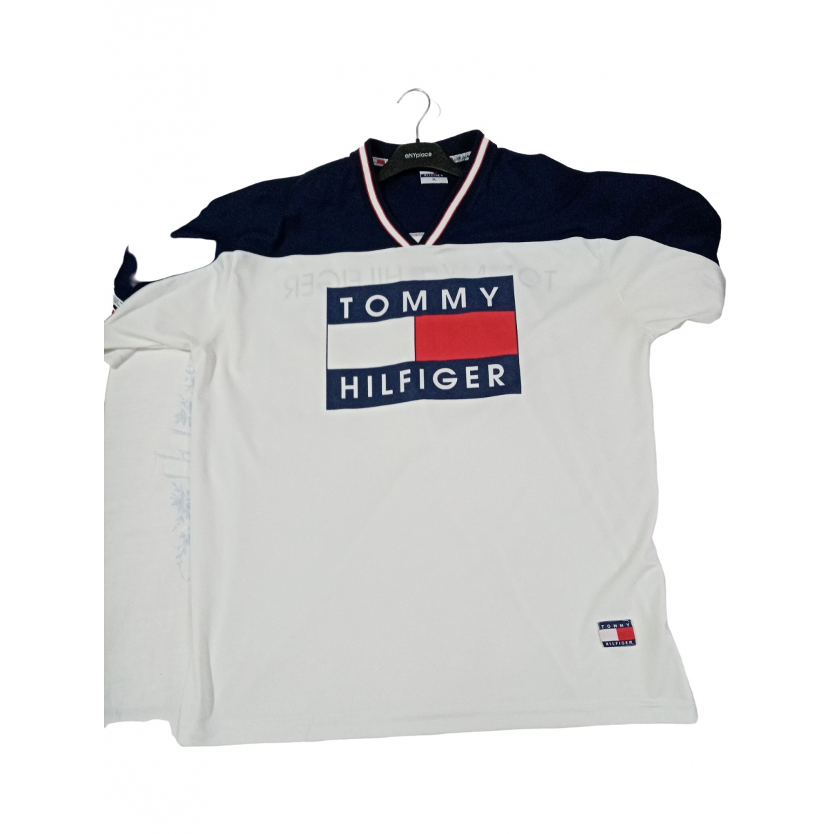 Tommy Hilfiger \N White Cotton T-shirts for Men XXL International