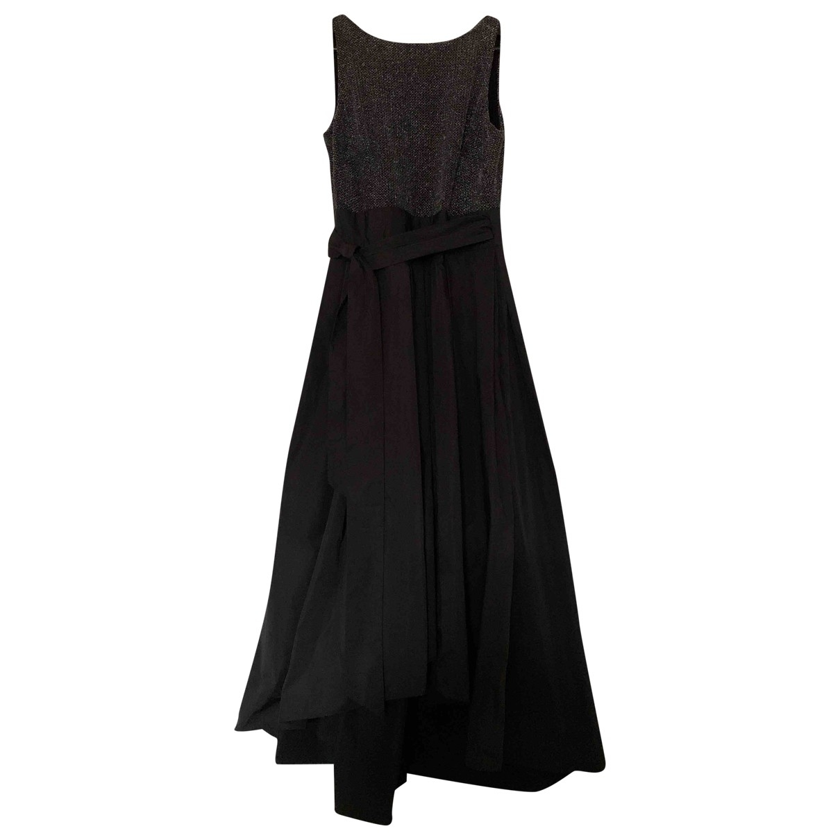 Lauren Ralph Lauren \N Kleid in  Schwarz Polyester