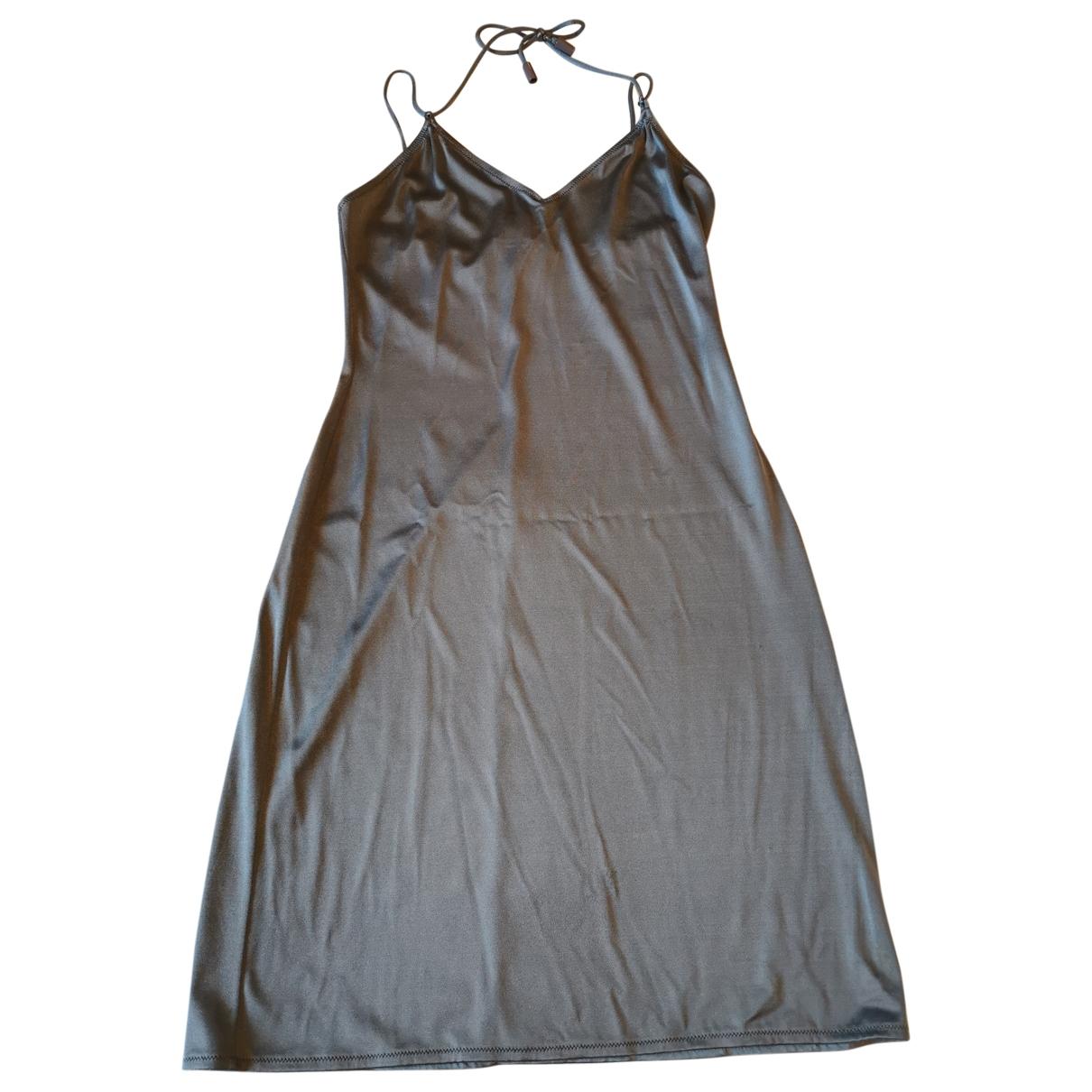 Dolce & Gabbana \N Kleid in  Grau Polyester