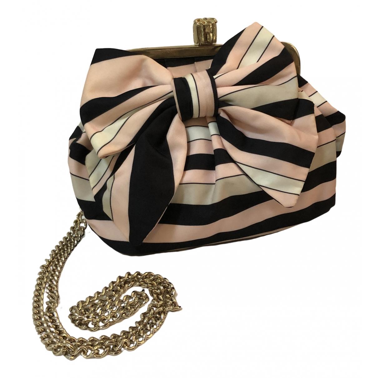 Red Valentino Garavani \N Pink Cloth handbag for Women \N