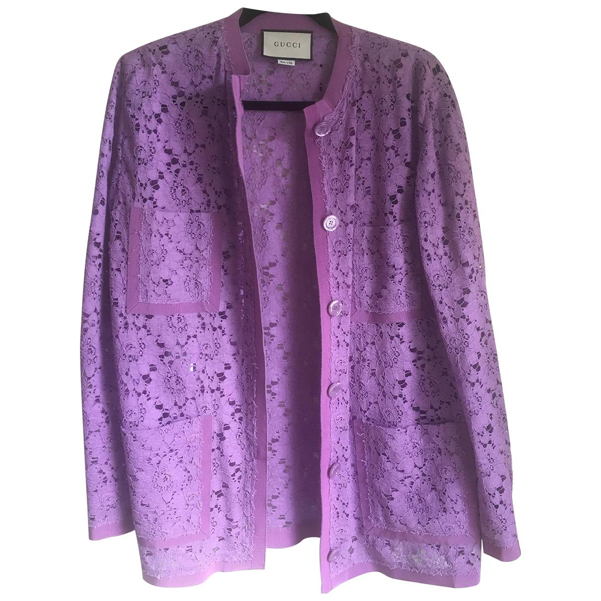 Gucci - Veste   pour femme - violet