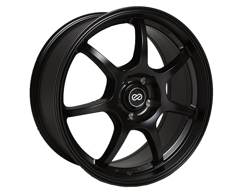 Enkei GT7 Wheel Performance Series Black 17x7.5 5x114.3 50mm