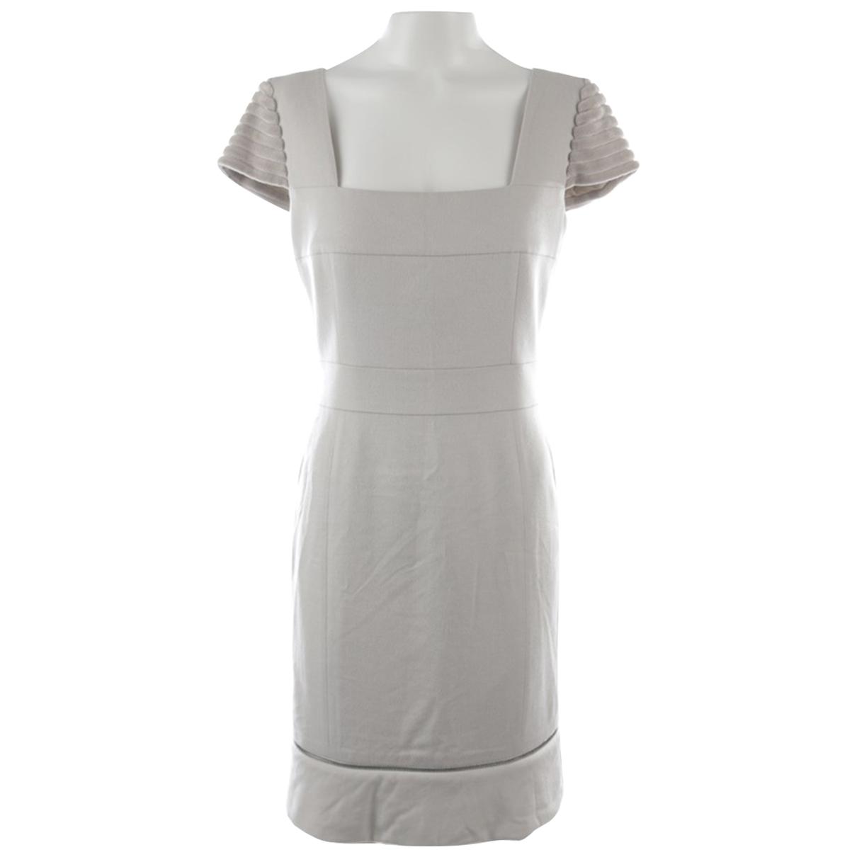 Akris \N Kleid in  Weiss Baumwolle