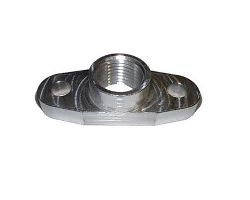 Torque Solution Billet Oil Drain Flange Universal T3/T4 & PTE Turbos
