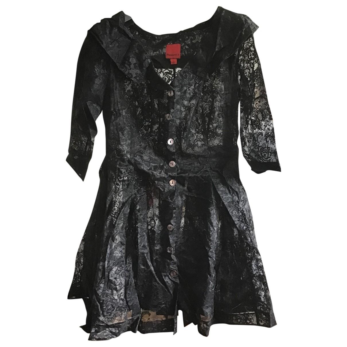 Mini vestido de Encaje Katharine Hamnett