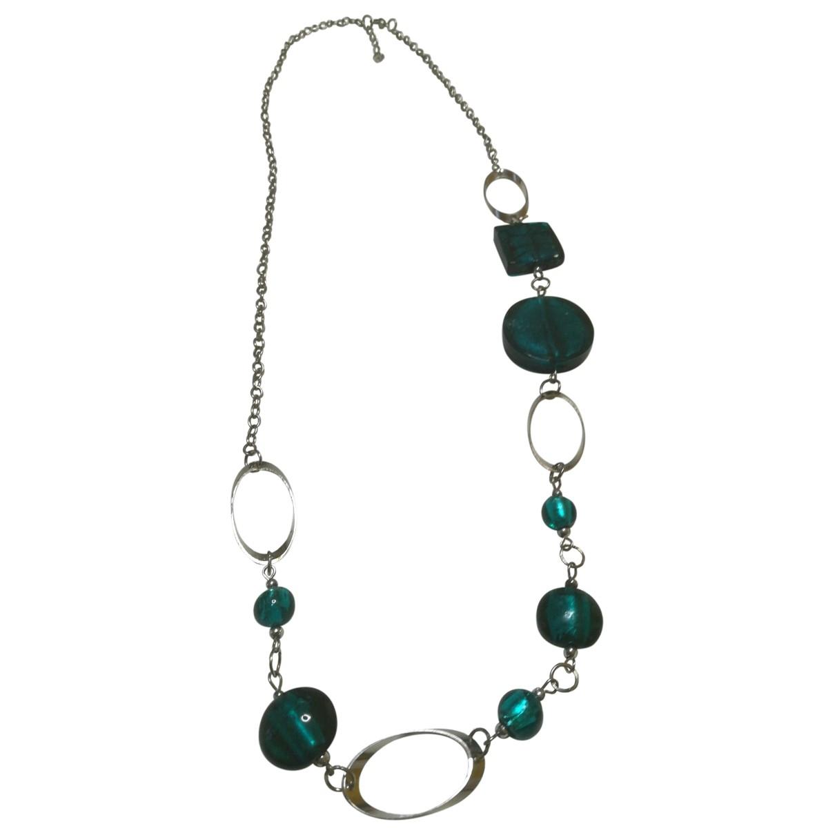 - Collier   pour femme en metal - vert