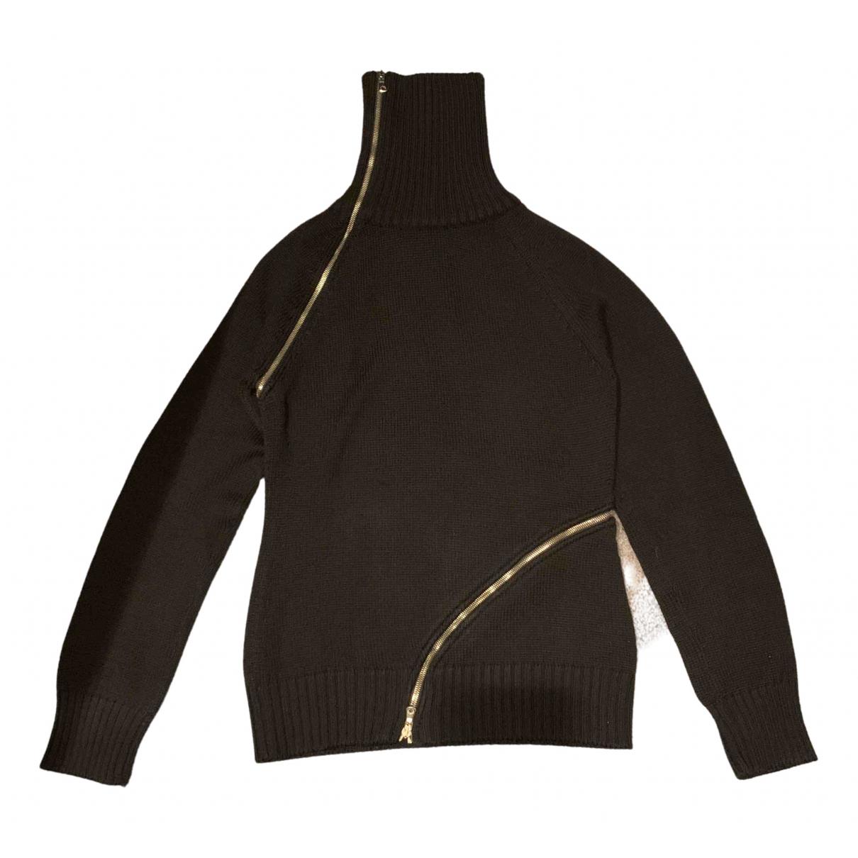 Dolce & Gabbana N Black Wool Knitwear for Women 46 IT