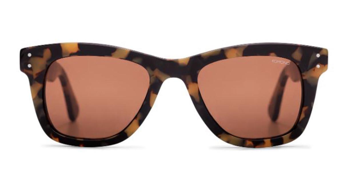 Komono ALLEN S1426 Men's Sunglasses Tortoise Size 49
