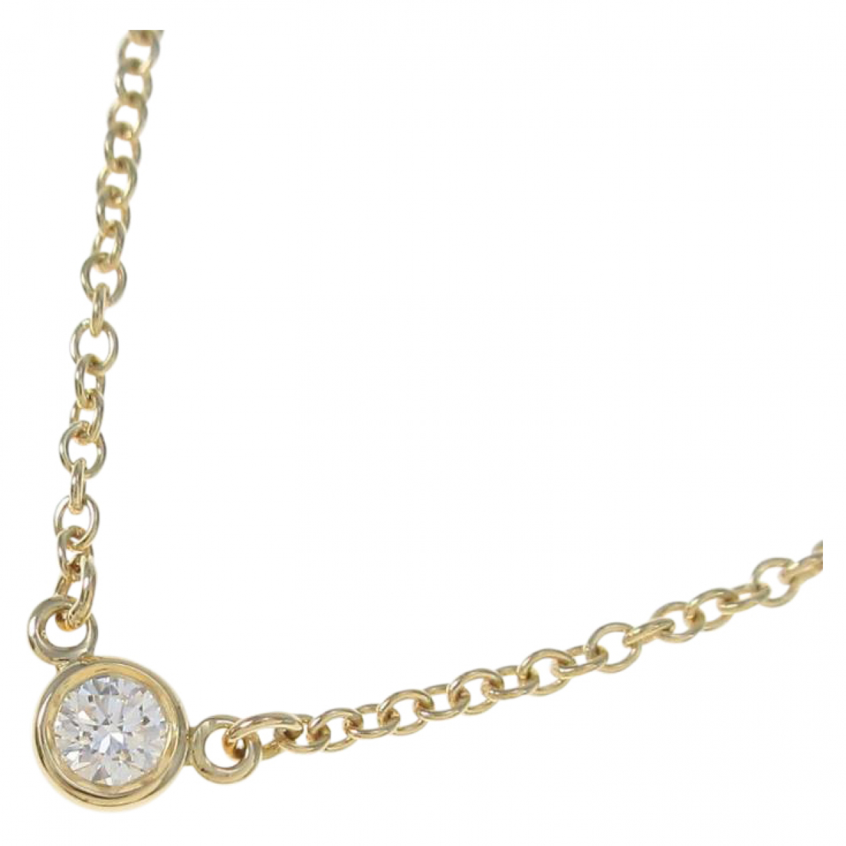 Tiffany & Co \N Kette in  Gold Gelbgold