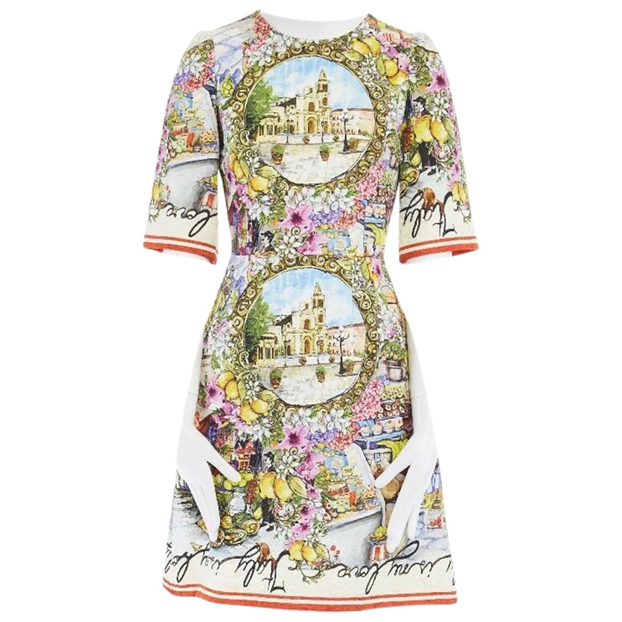 Dolce & Gabbana \N Multicolour dress for Women 36 IT