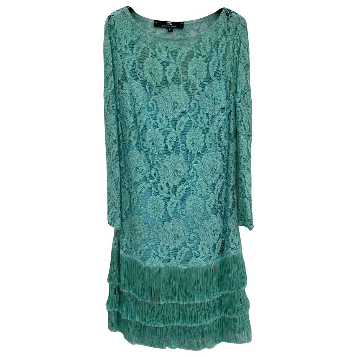 Mini vestido de Encaje Elisabetta Franchi